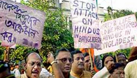 Raise your voice against the recent atrocities on Hindu and other religious minorities in Bangladesh